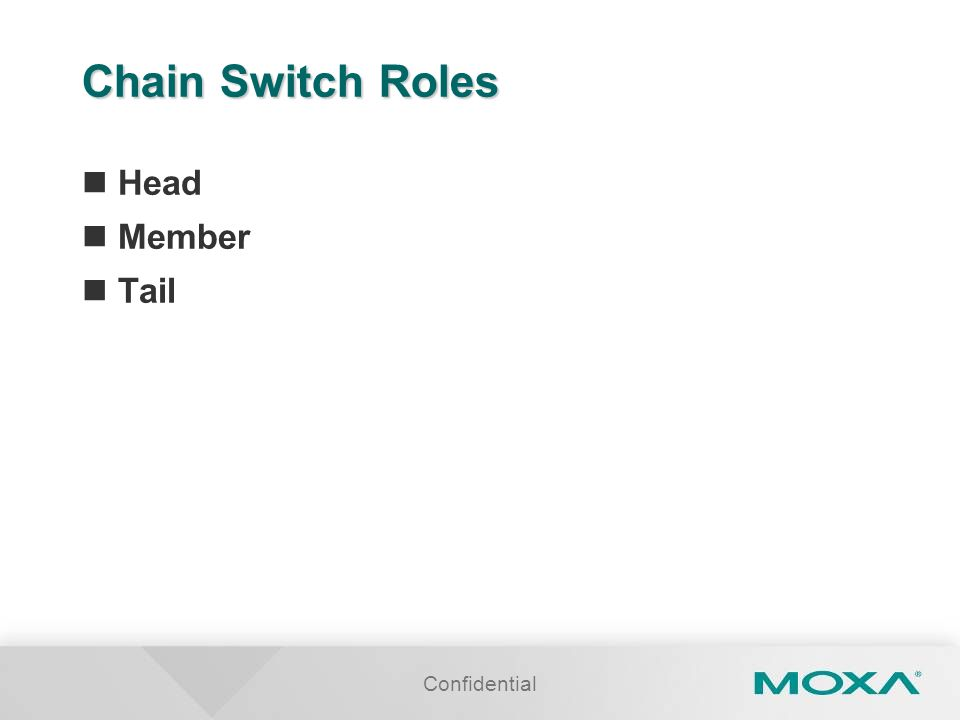 Confidential Chain Switch Roles Head Member Tail