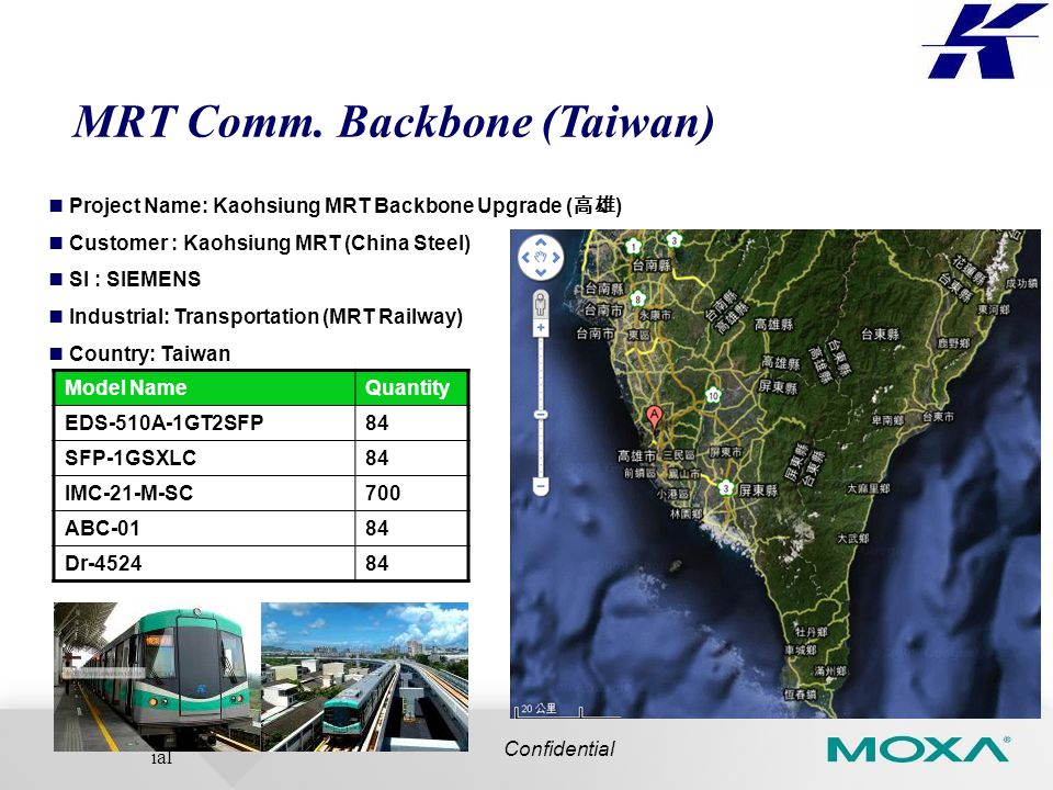 Confident ial MRT Comm.