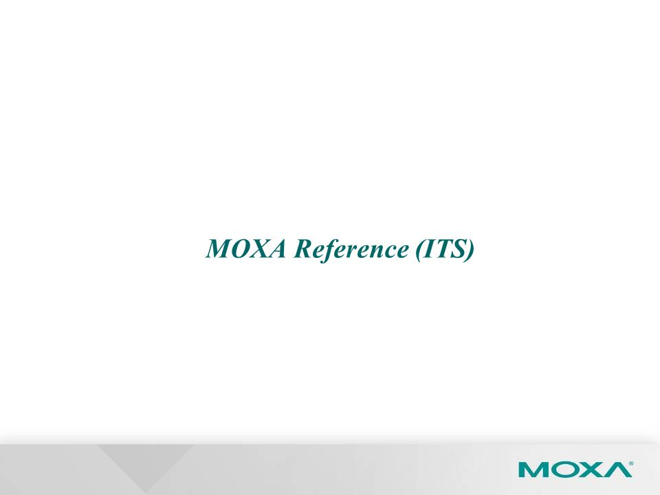 MOXA Reference (ITS)