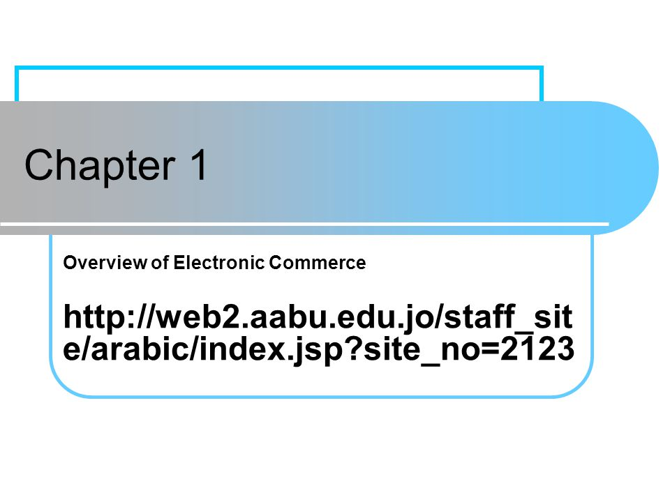 Chapter 1Prentice Hall21 The Digital Revolution Drives E-Commerce digital economy An economy that is based on digital technologies, including digital communication networks, computers, software, and other related information technologies; also called the Internet economy, the new economy, or the Web economy.