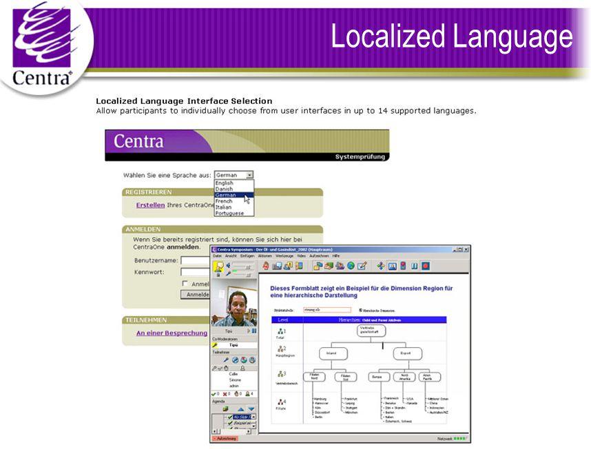 Localized Language