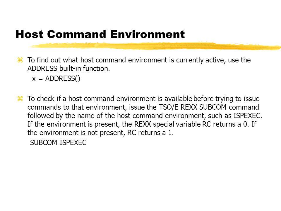 Processing datasets   EXECIO zEXECIO  An exec uses the EXECIO command to  perform the input Jay Moseley