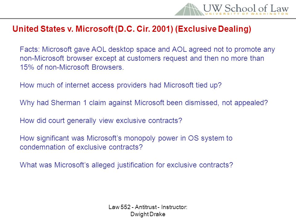microsoft antitrust claims The famous history of microsoft's antitrust case the doj and 20 states charged microsoft to court with claims of abusing antitrust competitive practices.