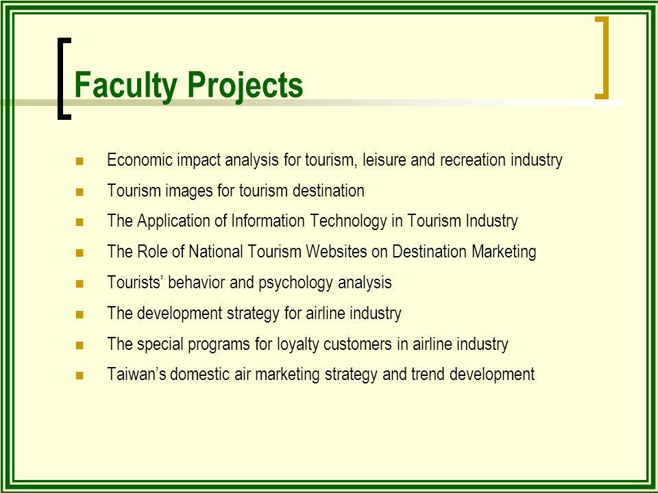 economic impacts of tourism on destinations