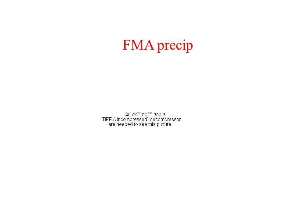 NOAA/CPC forecasts issued September 16, 2004 FMA precip