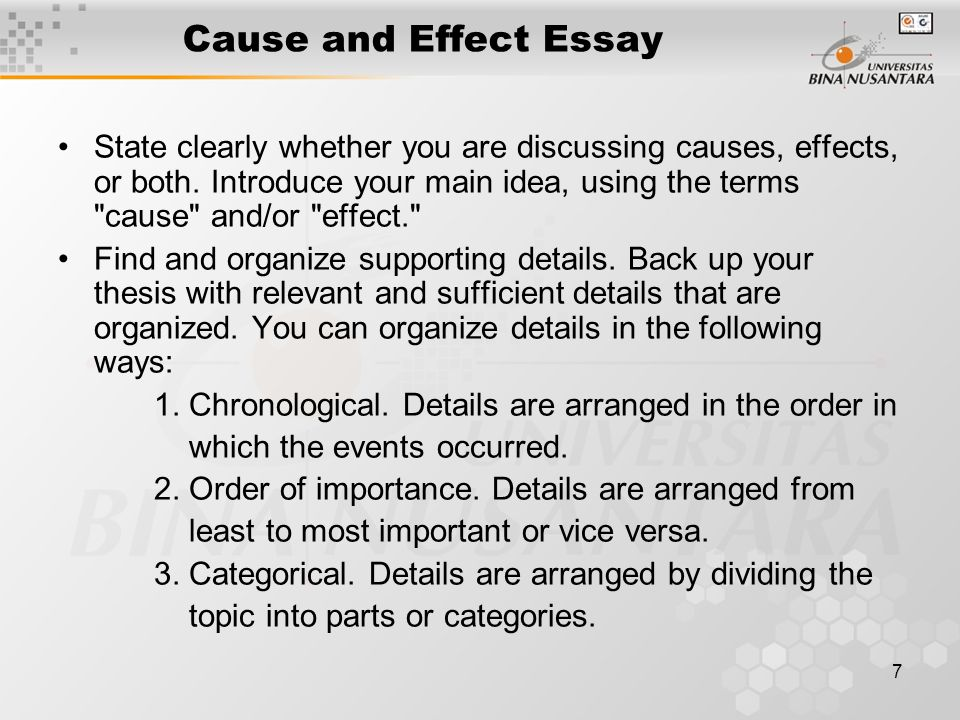 Paper Vs Essay Good Cause And Effect Essays How To Write A Thesis Statement For A Essay also Essays On Science And Technology Suffolk County Library Homework Help  Greencube Global Cause Effect  General Paper Essay