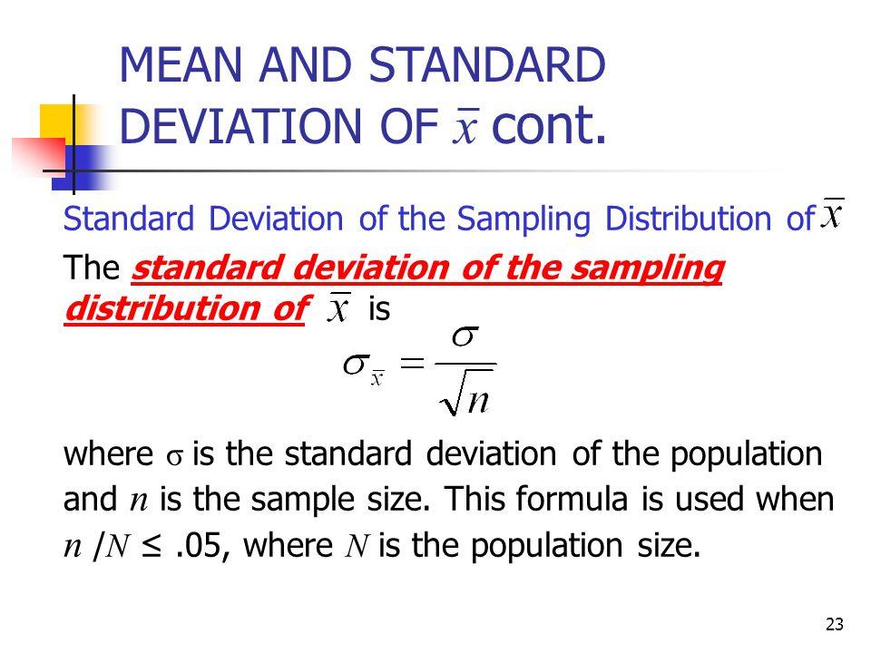 CHAPTER 7: SAMPLING DISTRIBUTIONS. 2 POPULATION AND SAMPLING ...