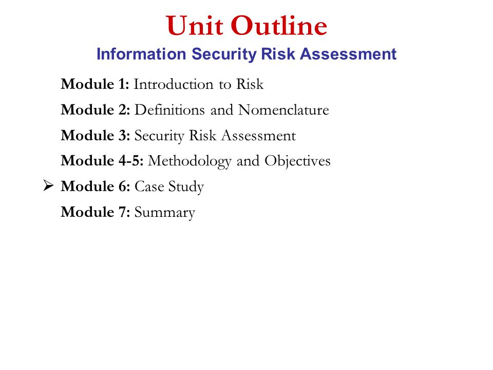 module 1 case study