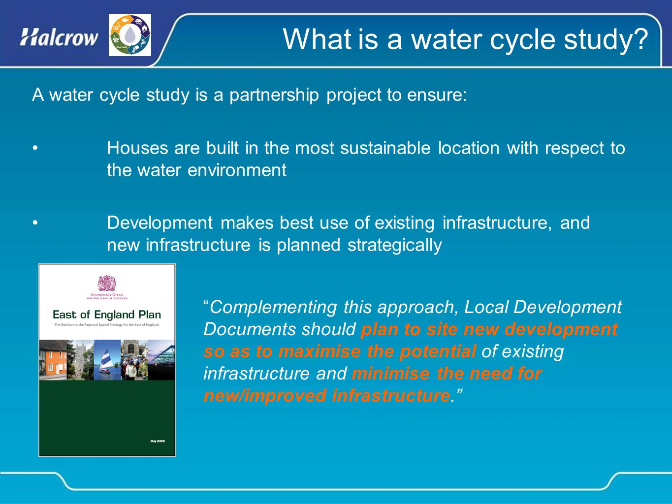 What is a water cycle study.