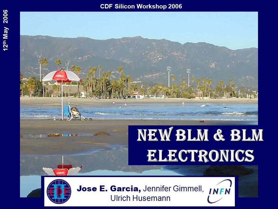 Cdf silicon workshop th may 2006 new blm blm electronics jose e cdf silicon workshop 2006 12 th may 2006 new blm blm electronics jose e sciox Gallery
