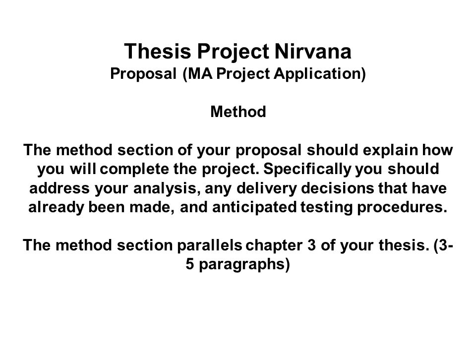 psychology thesis proposals Thesis proposal guidelines objectives: to provided standardized guidelines deriving from current grant applications for the masters and doctoral theses proposals.