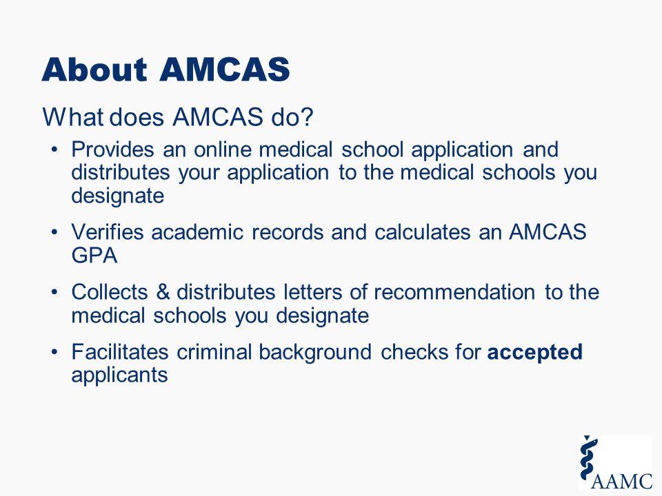 amcas application essay questions