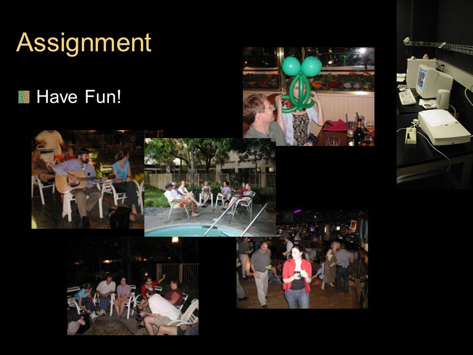 Assignment Have Fun!