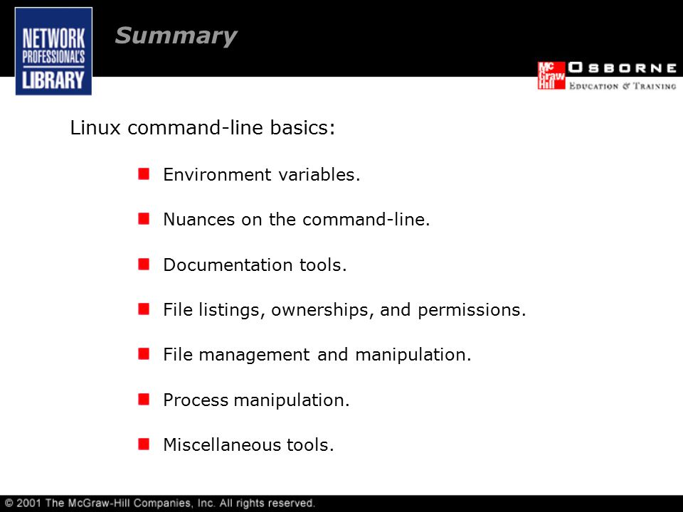 Linux command-line basics: Environment variables. Nuances on the command-line.