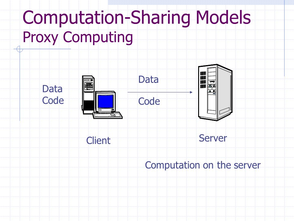 data computing models