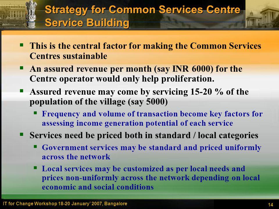 common centre service