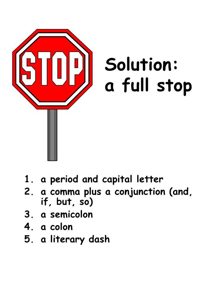 Professor Whitney's Typo Show Problem: comma splice (two complete ...