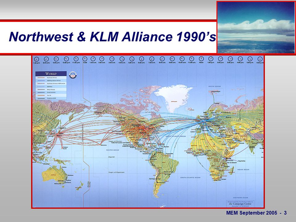 MEM September Northwest Airlines Perspective General Introduction to NWA NWA System Operations Control NWA Meteorology Roles and Products