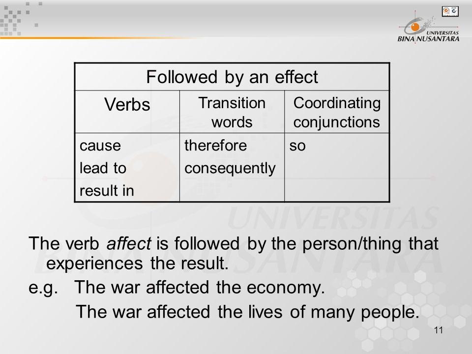 Cause effect essay conclusion
