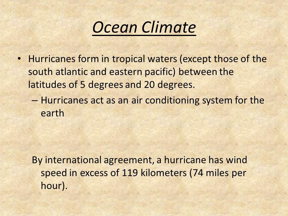 WWK How thermal energy transfer between the ocean and atmosphere ...