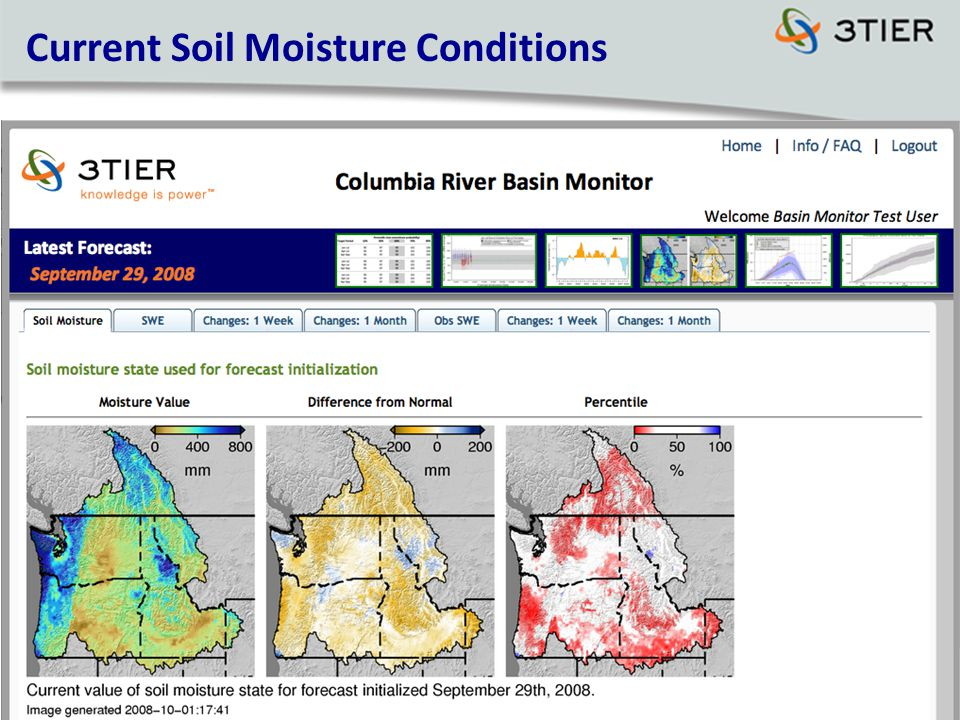 Current Soil Moisture Conditions
