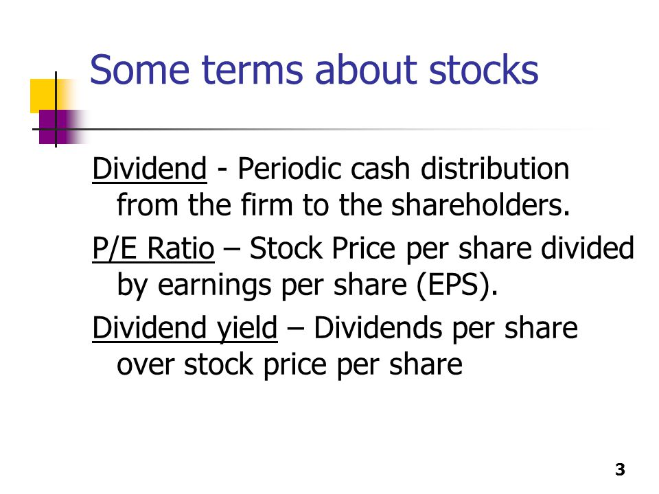 What does the term stock ticker me?