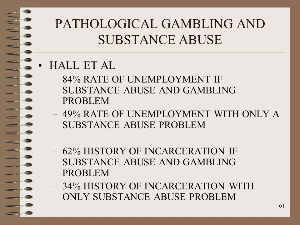 History of pathological gambling slot machines florida vote