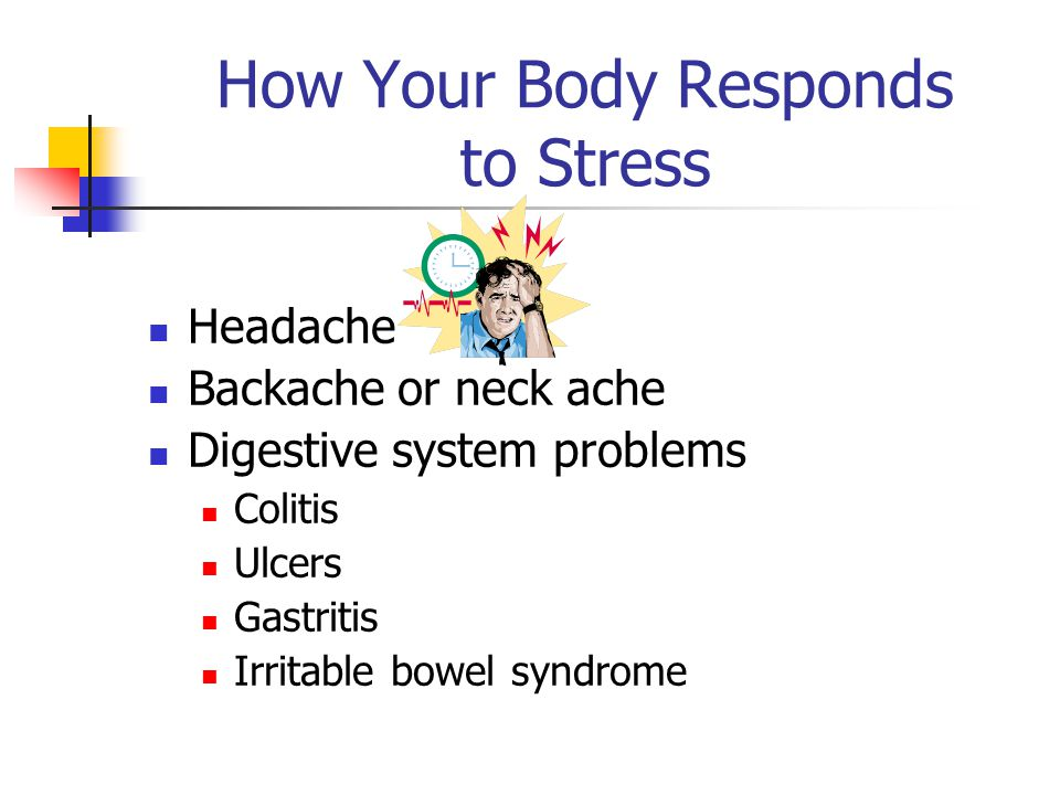How Your Body Responds to Stress Three-fourths (3/4) of all the doctor visits in the U.S.