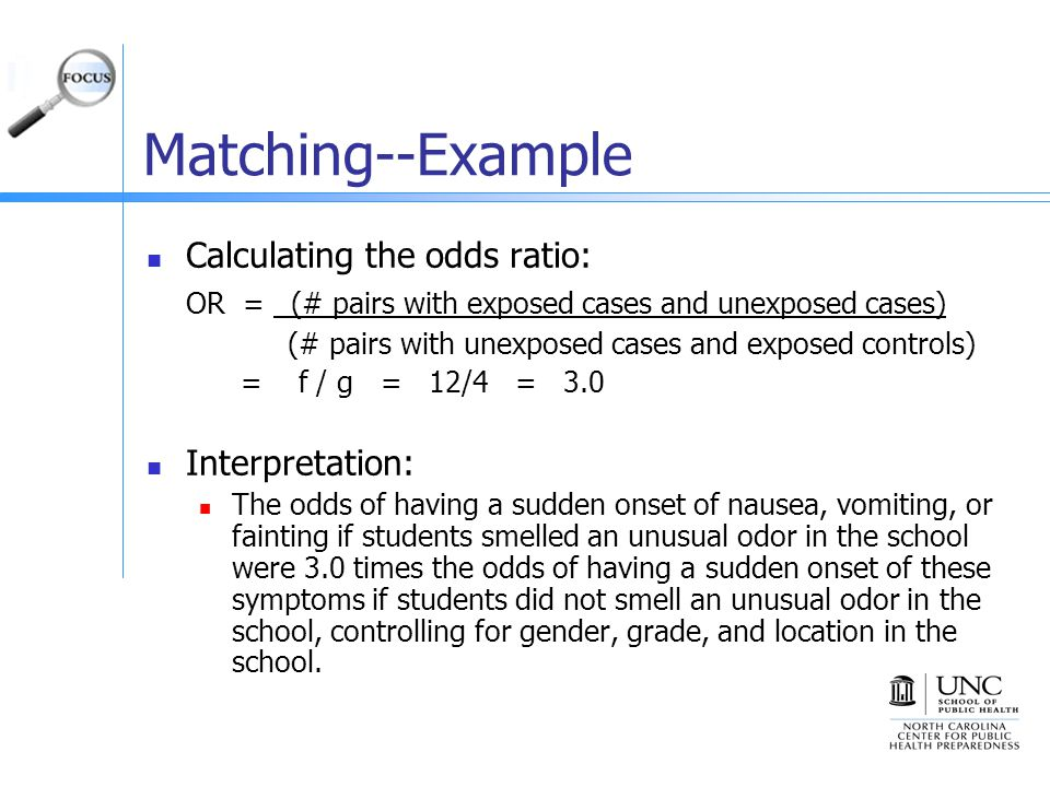 B>Case-Control Studies (Odds Ratios)