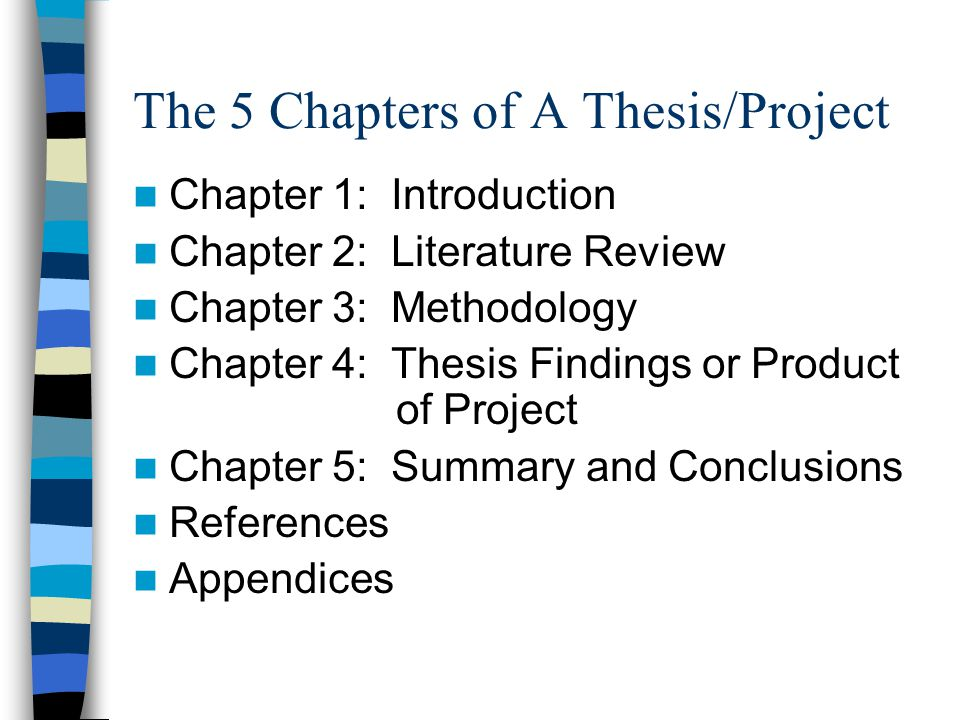 dissertation chapters Guidelines for writing a thesis or dissertation, linda childers hon, phd  chapter you also should make sure chapters 1 and 2 are now fully developed your chair.