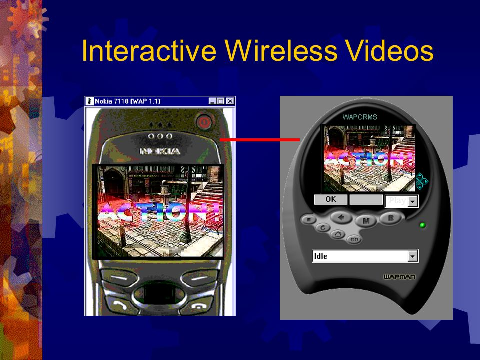 Play Interactive Wireless Videos