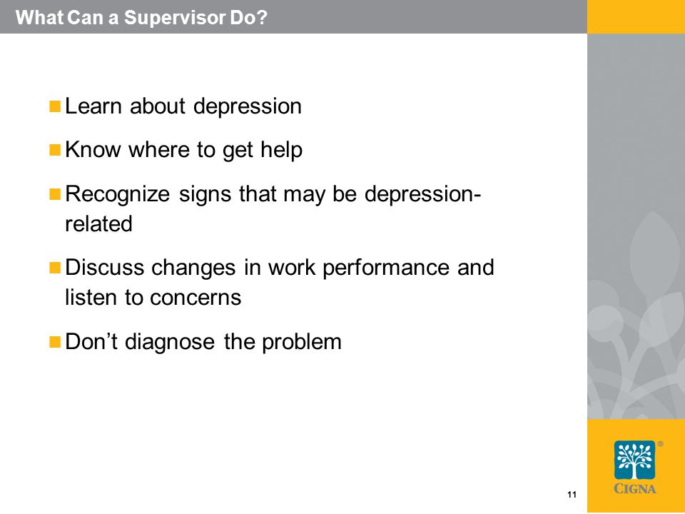 11 What Can a Supervisor Do.
