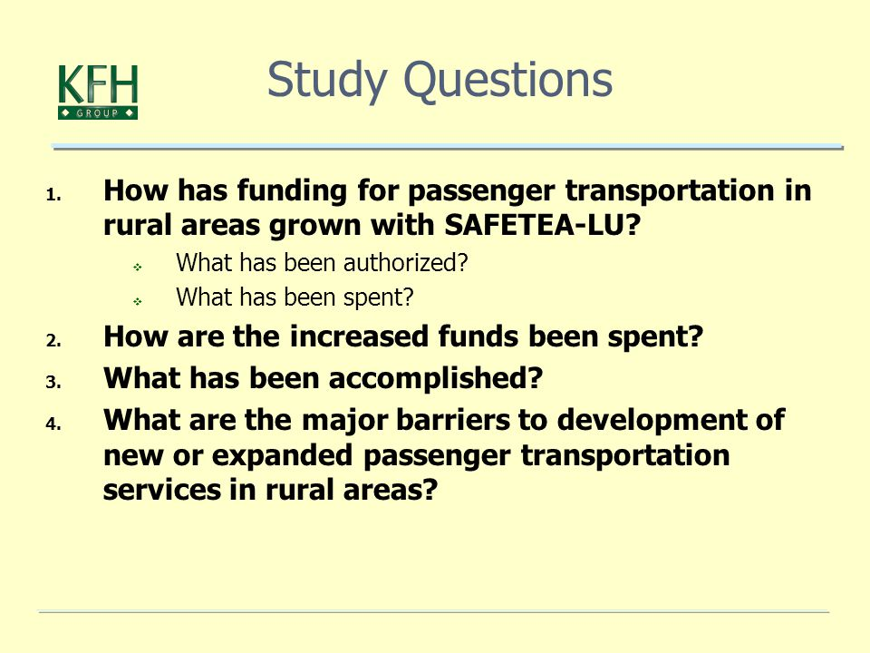 1. How has funding for passenger transportation in rural areas grown with SAFETEA-LU.