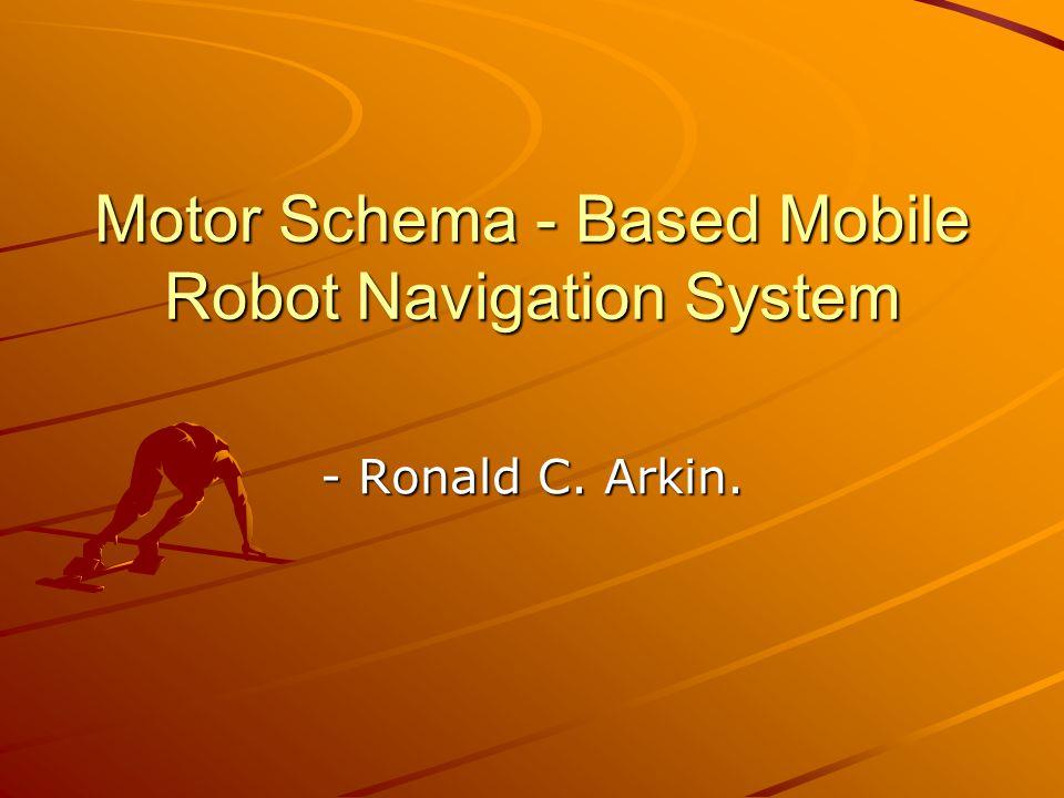 Motor Schema - Based Mobile Robot Navigation System - Ronald C ...