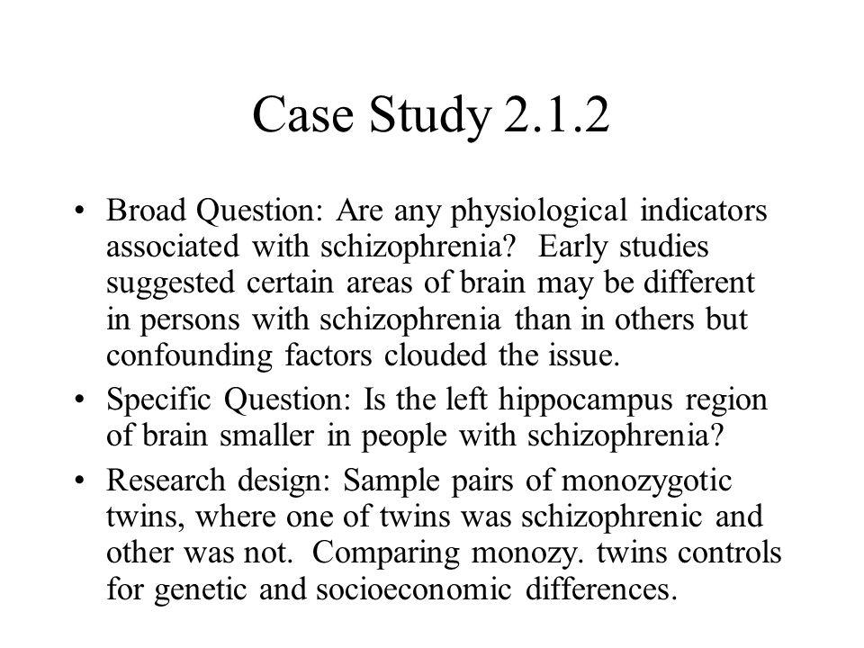 case study of schizophrenia Subscribe To