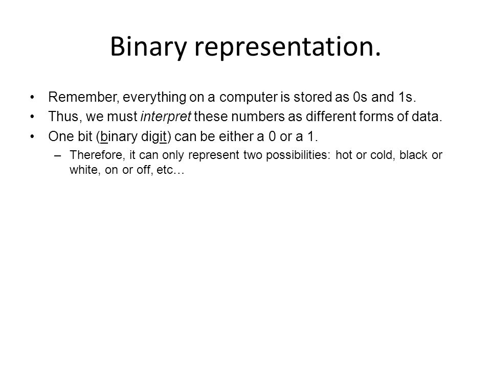 Binary Expression (Decimal to Binary) Combination of 1, 2, 4, 8, 16, 32, … bills – Decimal Number: 23 – – 1.