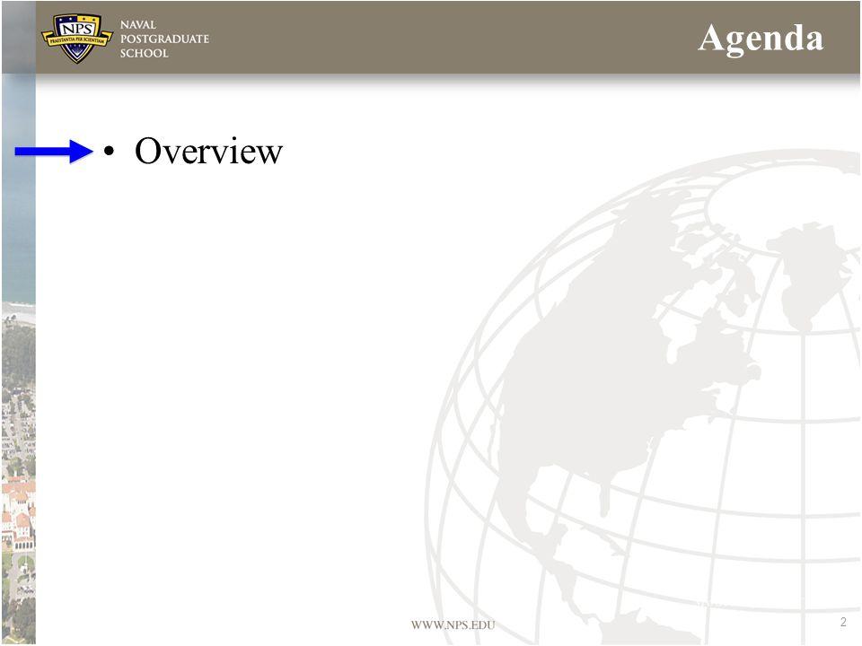 2 Agenda Overview