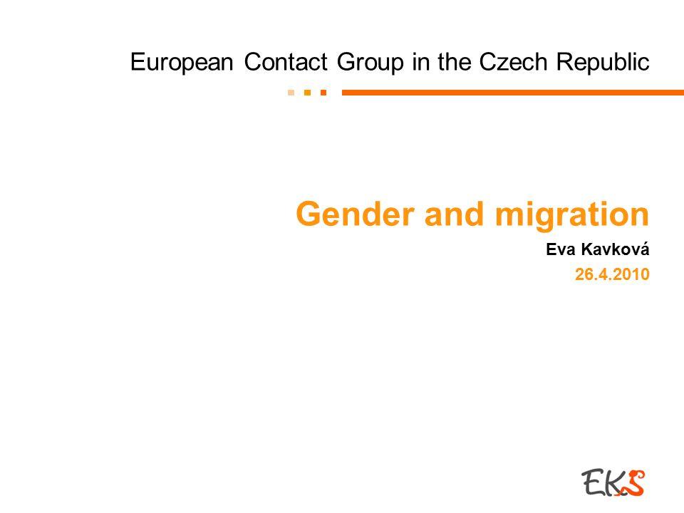 Czech Women Subordinated Their Demands