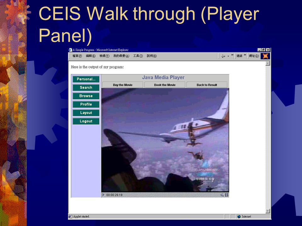 CEIS Walk through (Result Panel)