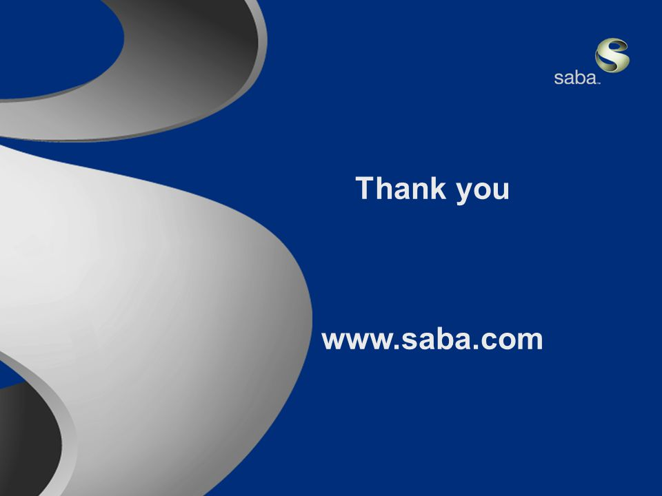 Saba Confidential 20 Thank you