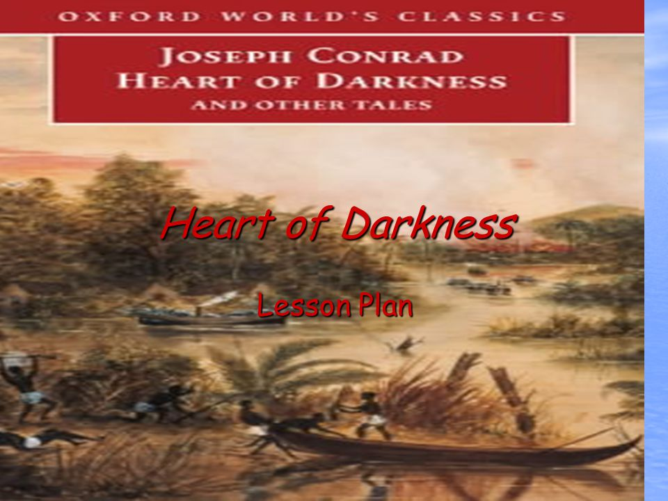 the colonialistic bias of the heart of darkness essay Study of heart of darkness by j conrad.