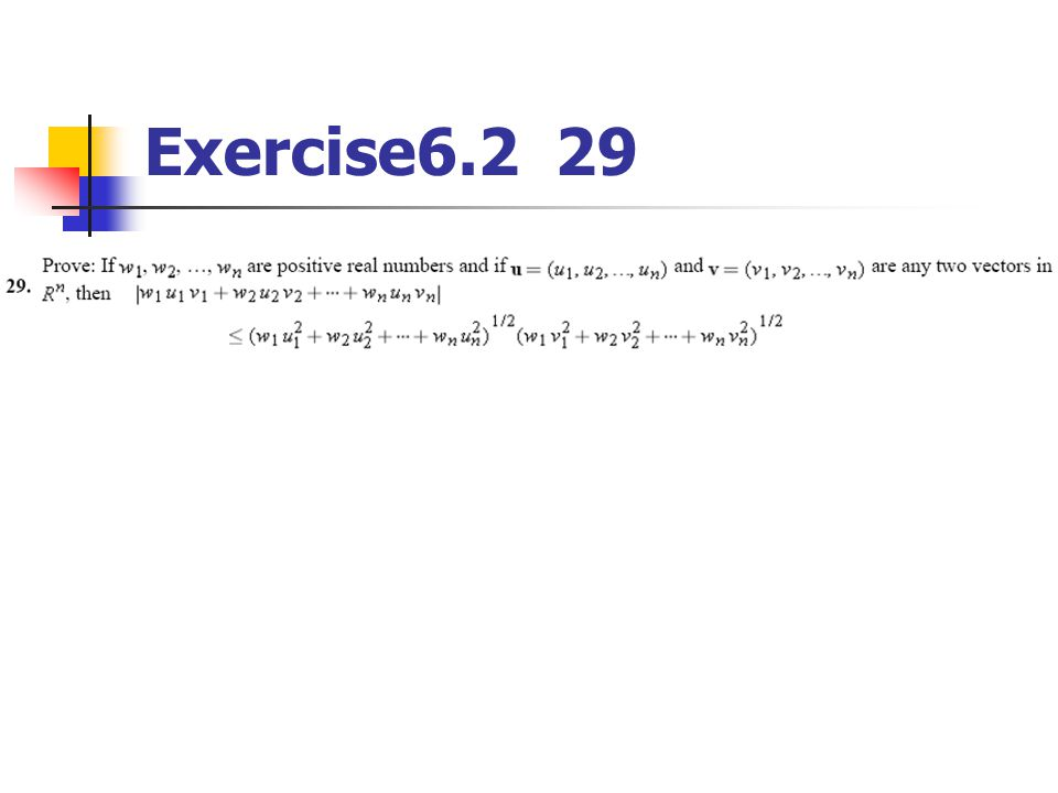 Exercise6.2 29