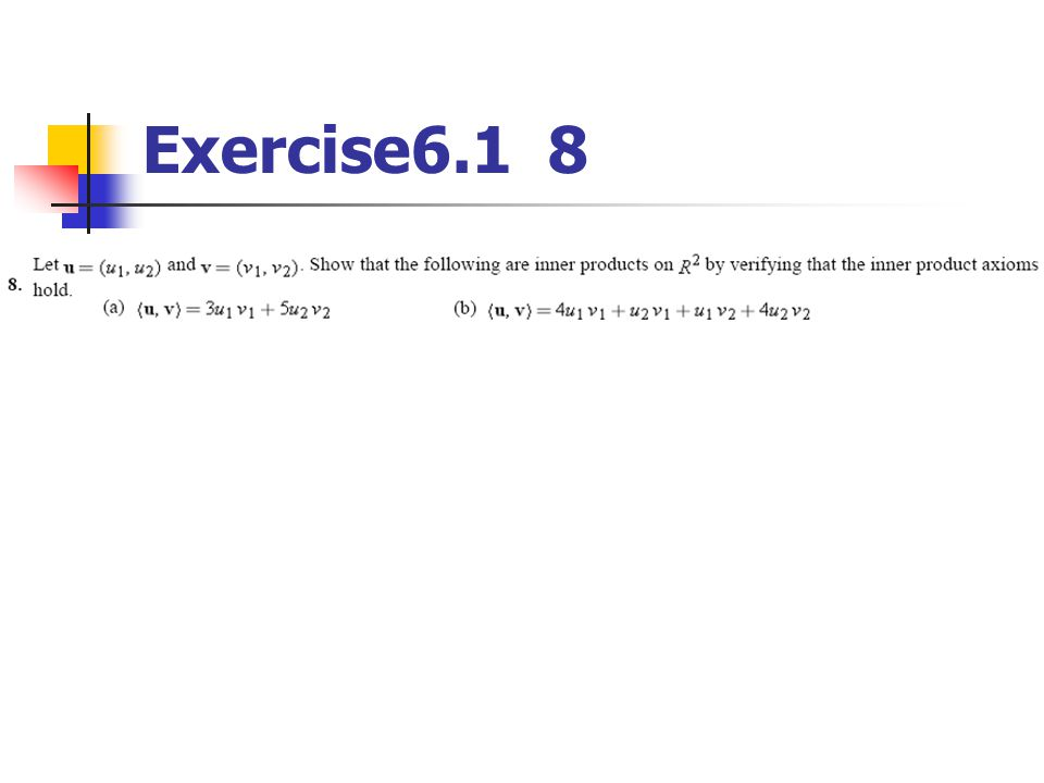 Exercise6.1 8