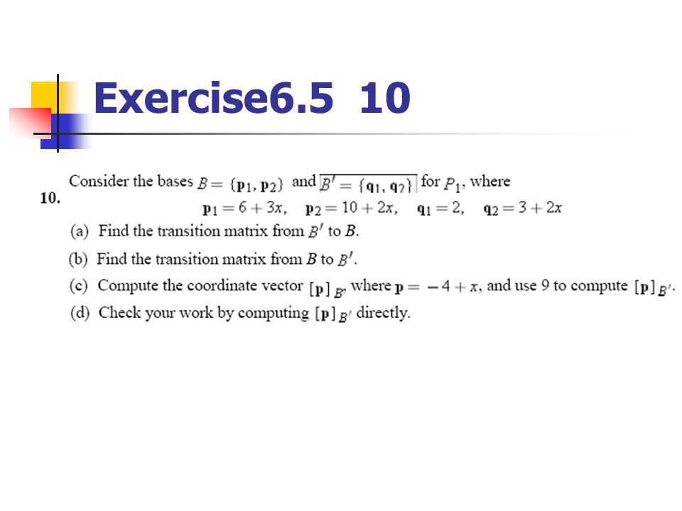 Exercise6.5 10