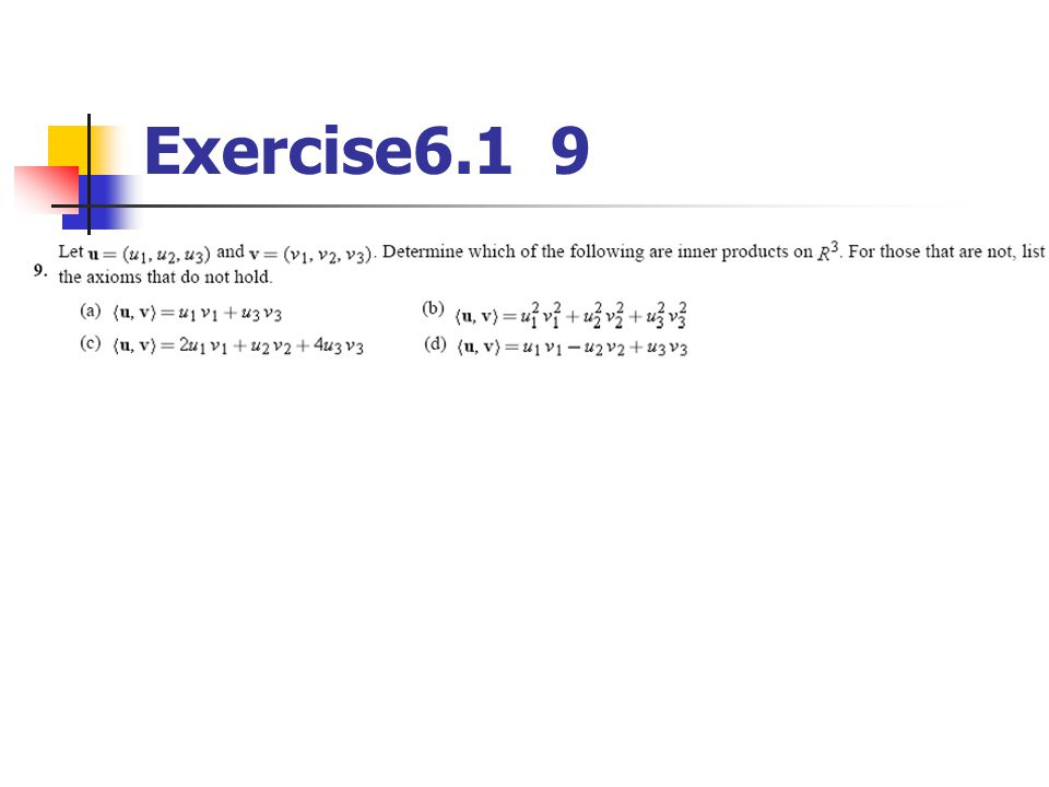 Exercise6.1 9