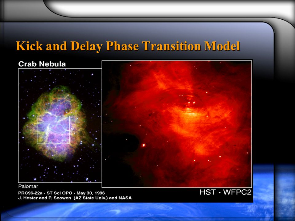 Kick and Delay Phase Transition Model