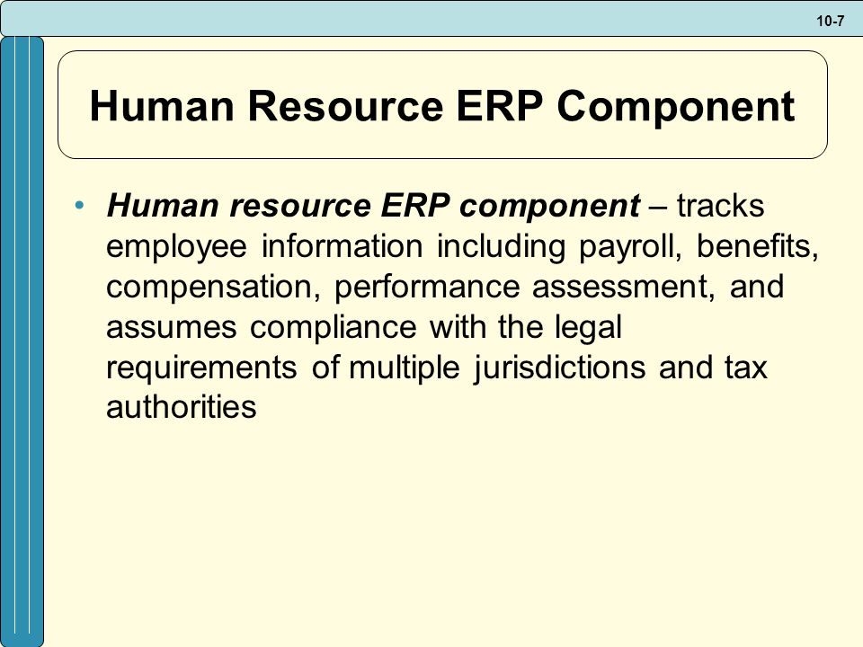 10-8 ERP Components