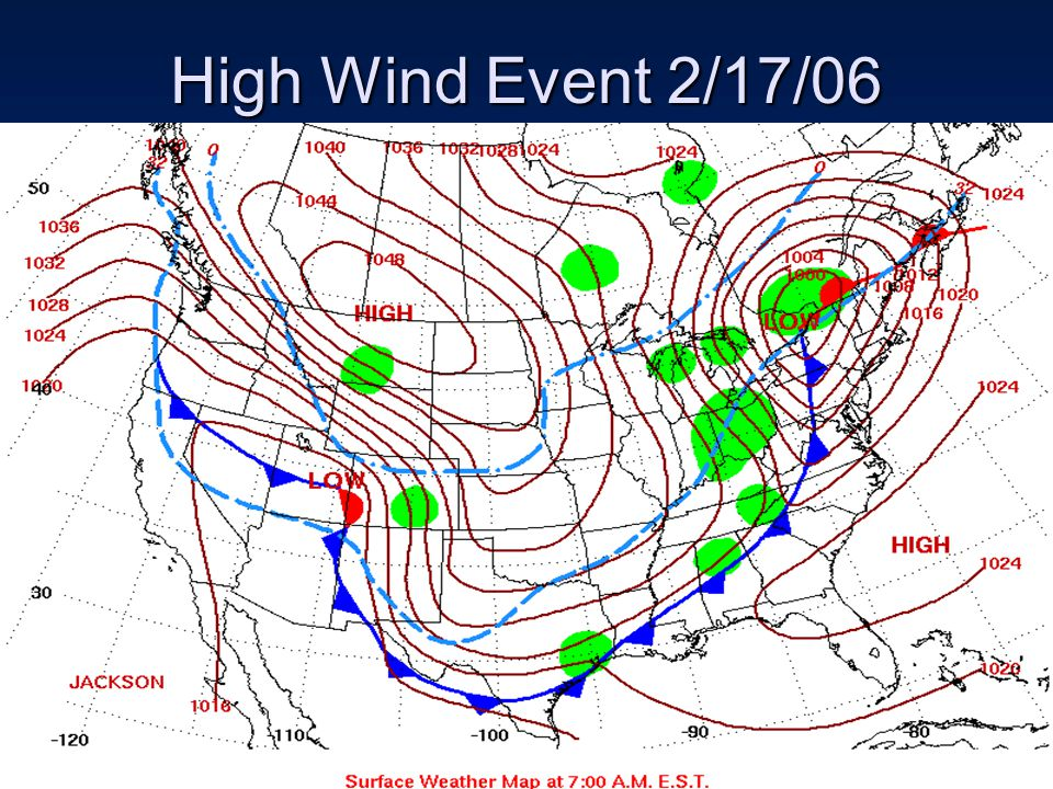 High Wind Event 2/17/06