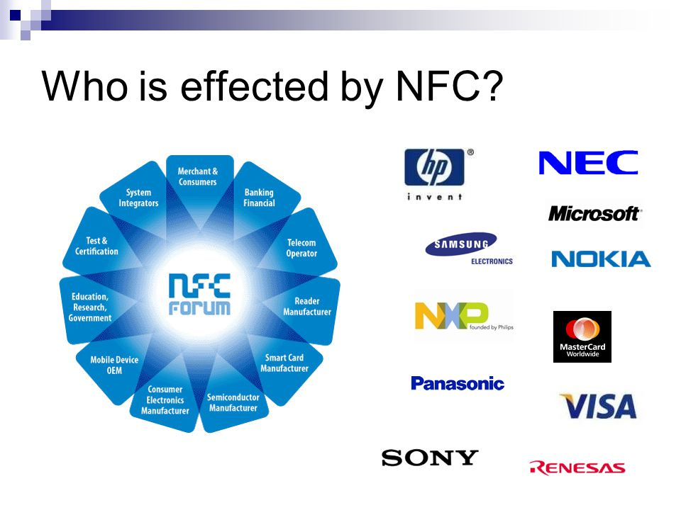 Who is effected by NFC