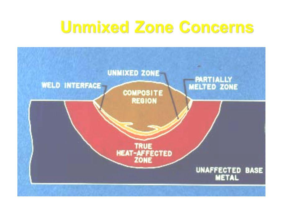 Unmixed Zone Concerns